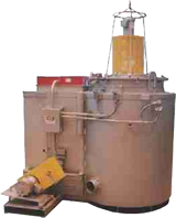 Cyclone Electric Pit Furnace
